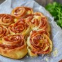 Torta di rose salame e uova velocissima