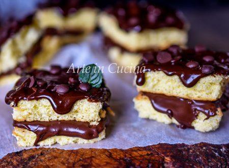 Trancetti nutella e cioccolato veloci
