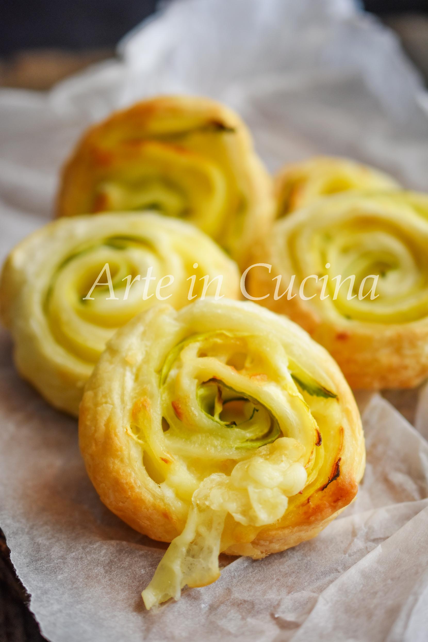 Girelle patate zucchine e robiola 10 minuti vickyart arte in cucina