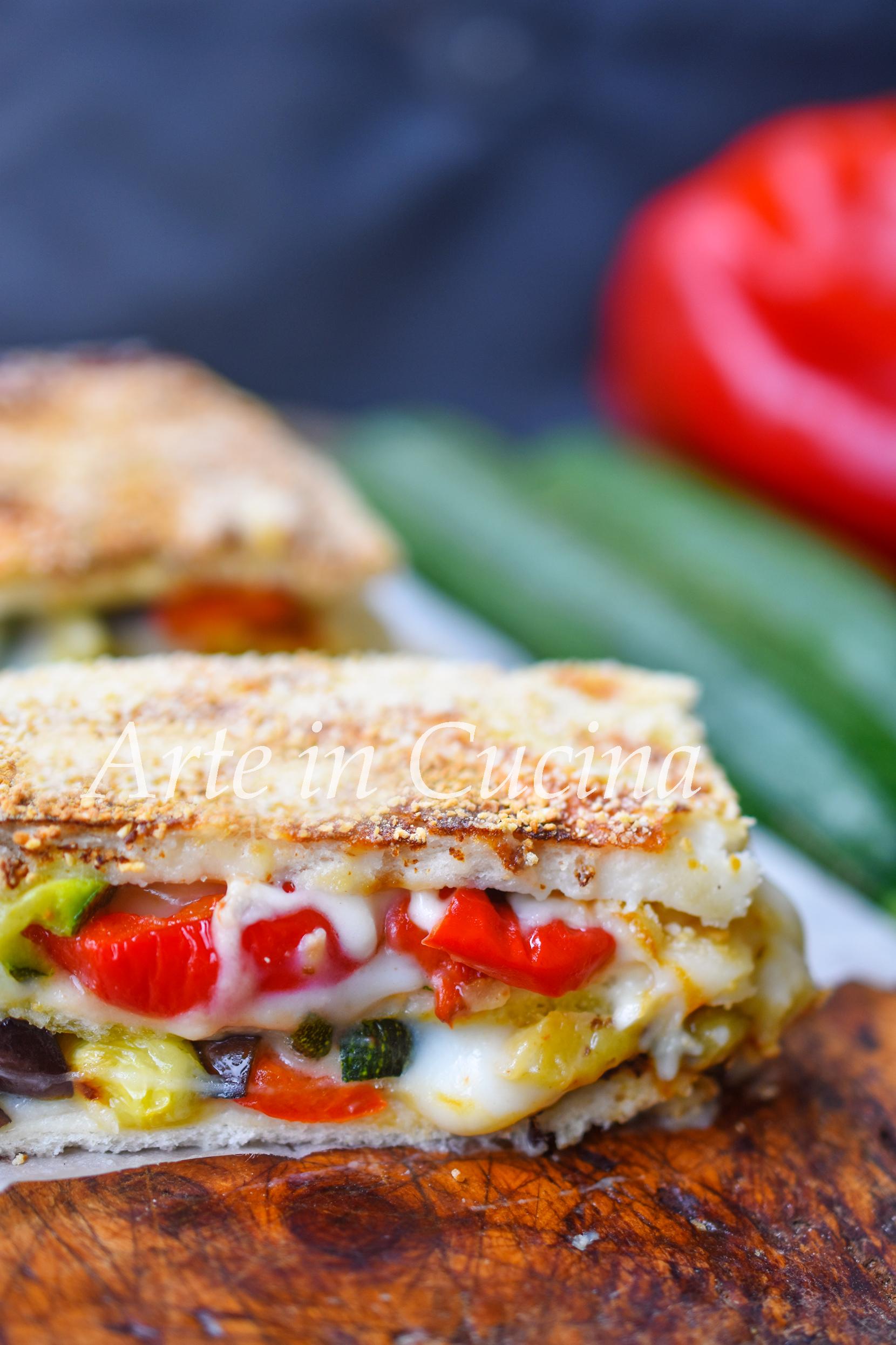 Lasagne di pancarrè con besciamella alle verdure vickyart arte in cucina