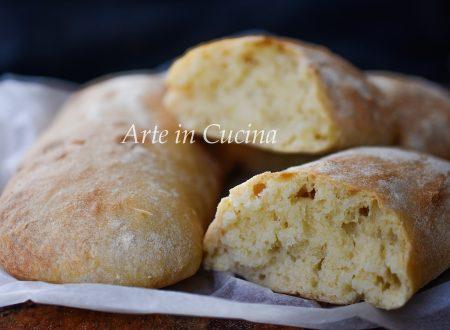 Pane ciabatta ricetta con 2 grammi di lievito