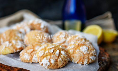 Pasticcini al limoncello dolcetti veloci
