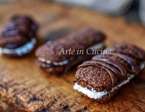 Pavesini nutella e ricotta dolcetti veloci 5 minuti