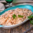 Risotto agli scampi cremoso ricetta facile piatto leggero vickyart arte in cucina