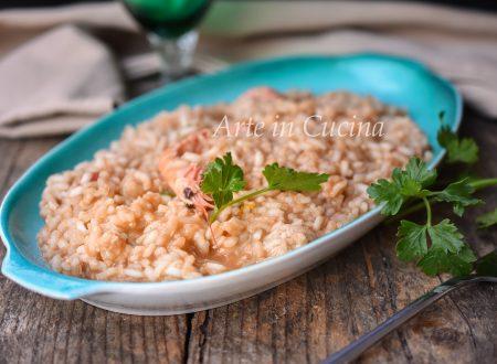 Risotto agli scampi cremoso ricetta facile