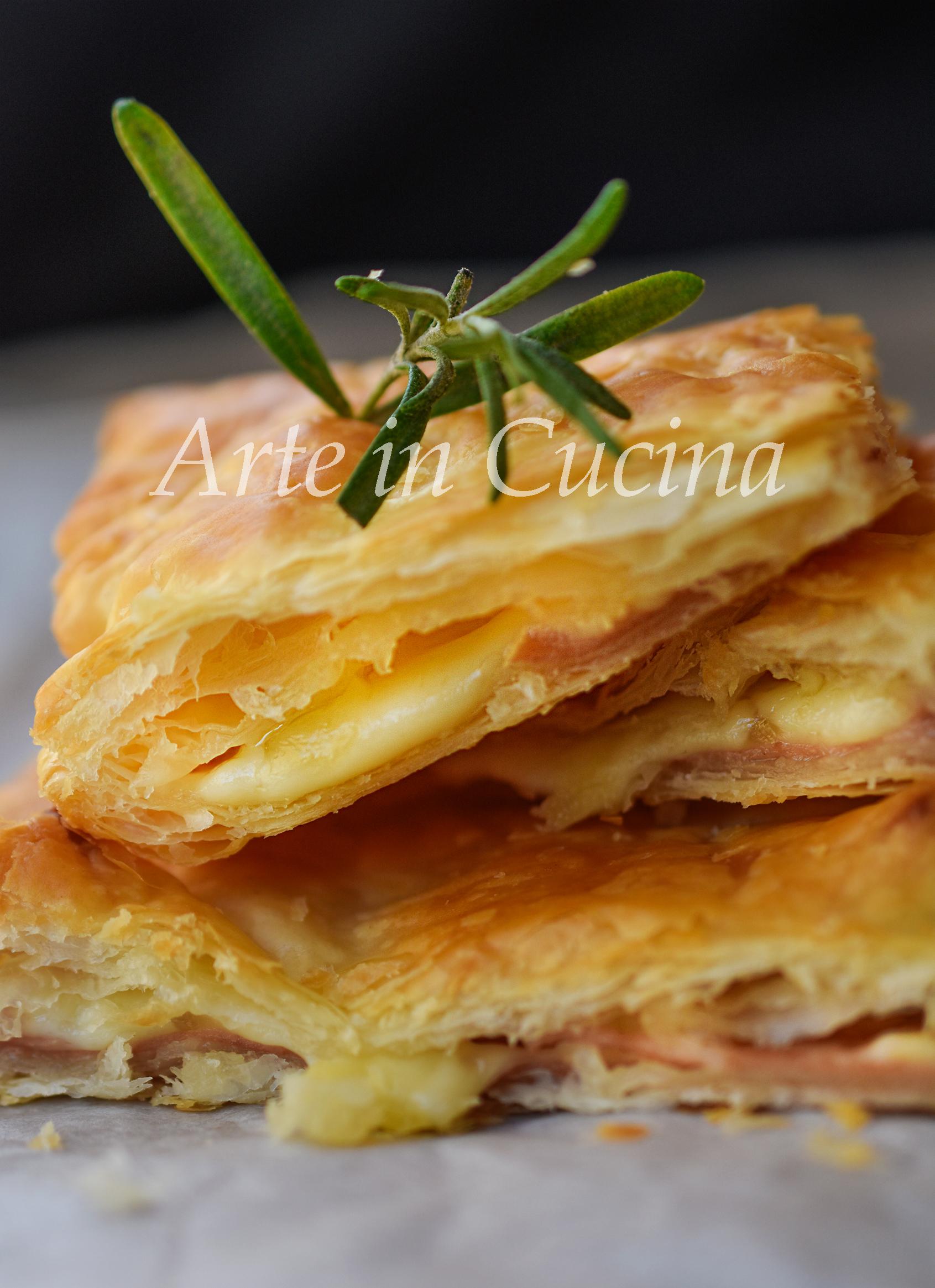 Sfoglia alla mortadella e formaggio veloce ricetta sfiziosa vickyart arte in cucina