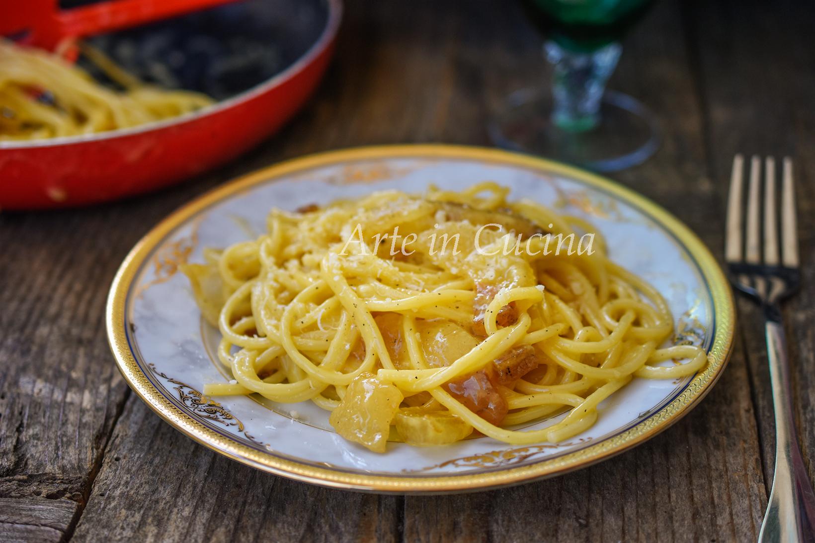 Spaghetti alla carbonara ricetta originale vickyart arte in cucina