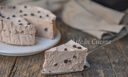 Torta fredda cremosa al cioccolato