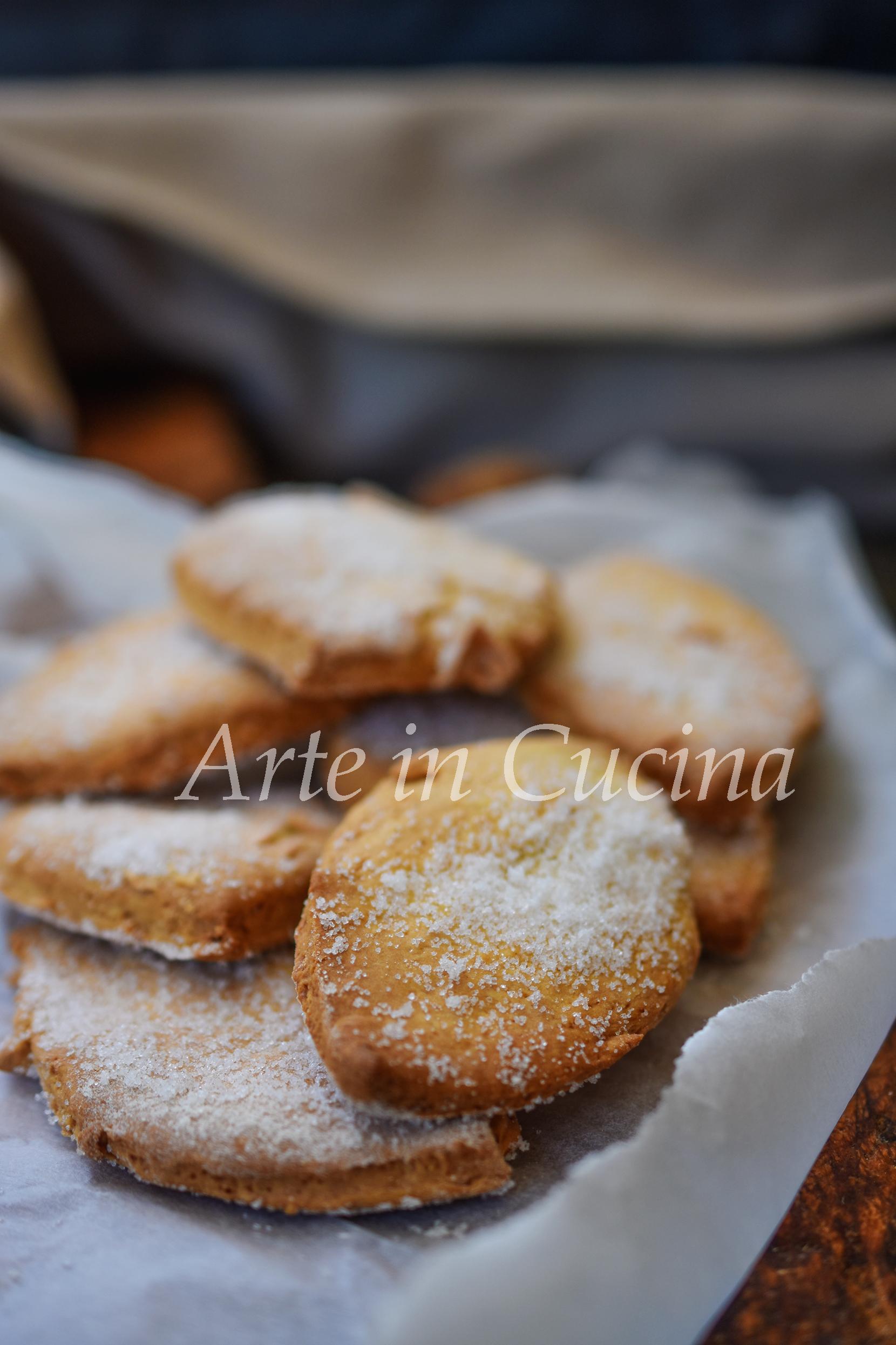 Biscotti caserecci della nonna da inzuppo ricetta colazione vickyart arte in cucina