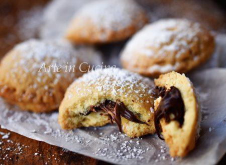 Biscotti veloci con nutella