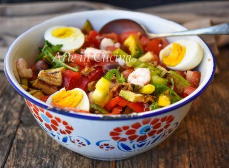 Insalatona pranzo e cena ricetta leggera