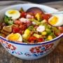 Insalatona pranzo e cena ricetta leggera veloce vickyart arte in cucina