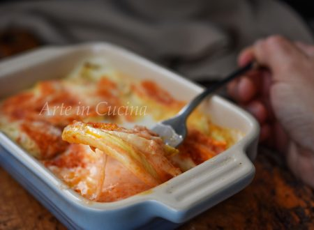 Parmigiana di finocchi con prosciutto