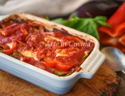 Parmigiana di verdure arrostite