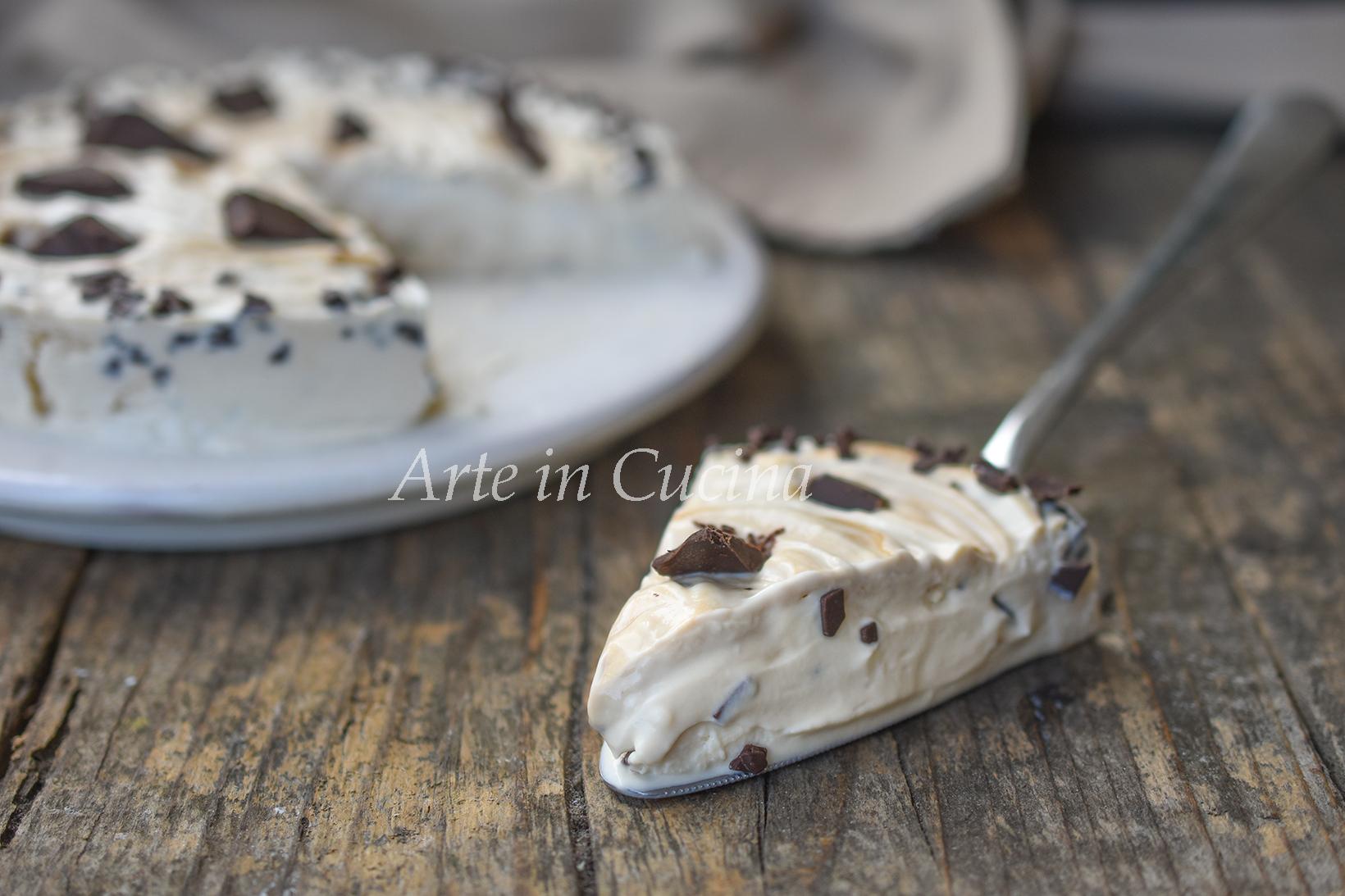 Torta cappuccino fredda al mascarpone vickyart arte in cucina