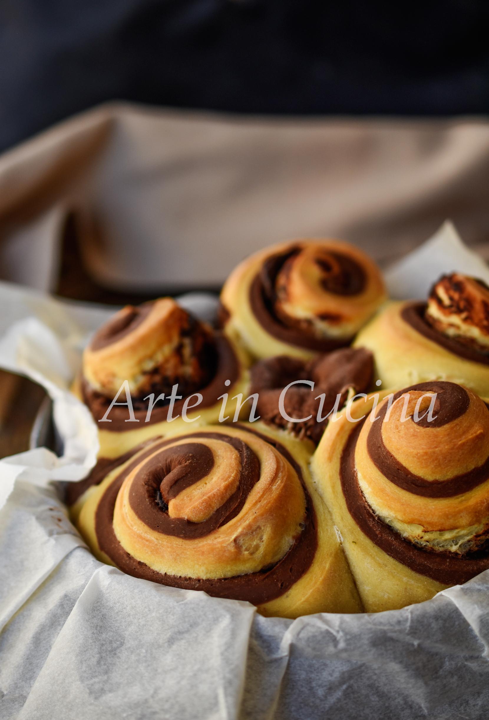 Torta di rose bicolore alla nutella ricetta da colazione vickyart arte in cucina