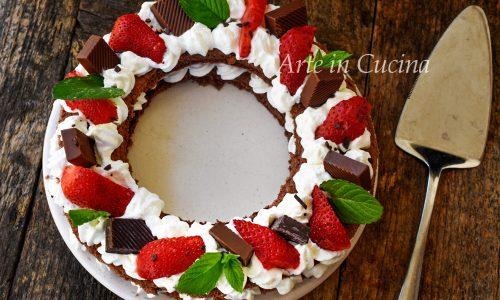 Cream tart al cioccolato velocissima