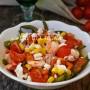 Insalata con fagiolini e gamberetti ricetta estiva leggera vickyart arte in cucina
