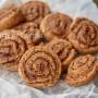 Girelle al cacao e nutella veloci biscotti farciti arrotolati vickyart arte in cucina