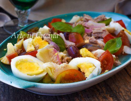 Insalata nizzarda ricetta francese salade niçoise