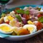 Insalata nizzarda ricetta francese salade niçoise piatto tipico vickyart arte un cucina