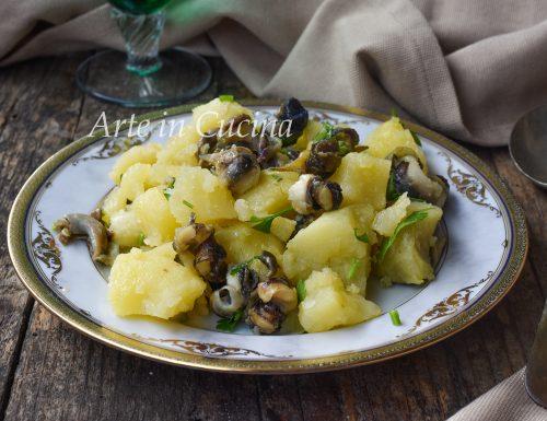 Insalata di sconcigli e patate ricetta facile