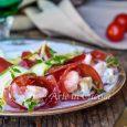 Involtini di bresaola zucchine e gamberi vickyart arte in cucina