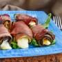 Involtini di speck e melanzane ripieni con scamorza facili e veloci vickyart arte in cucina