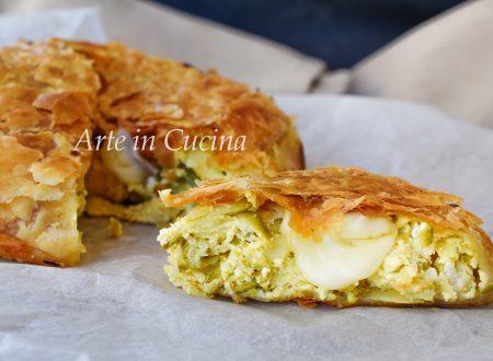 Pasta sfoglia con zucchine e ricotta torta salata veloce