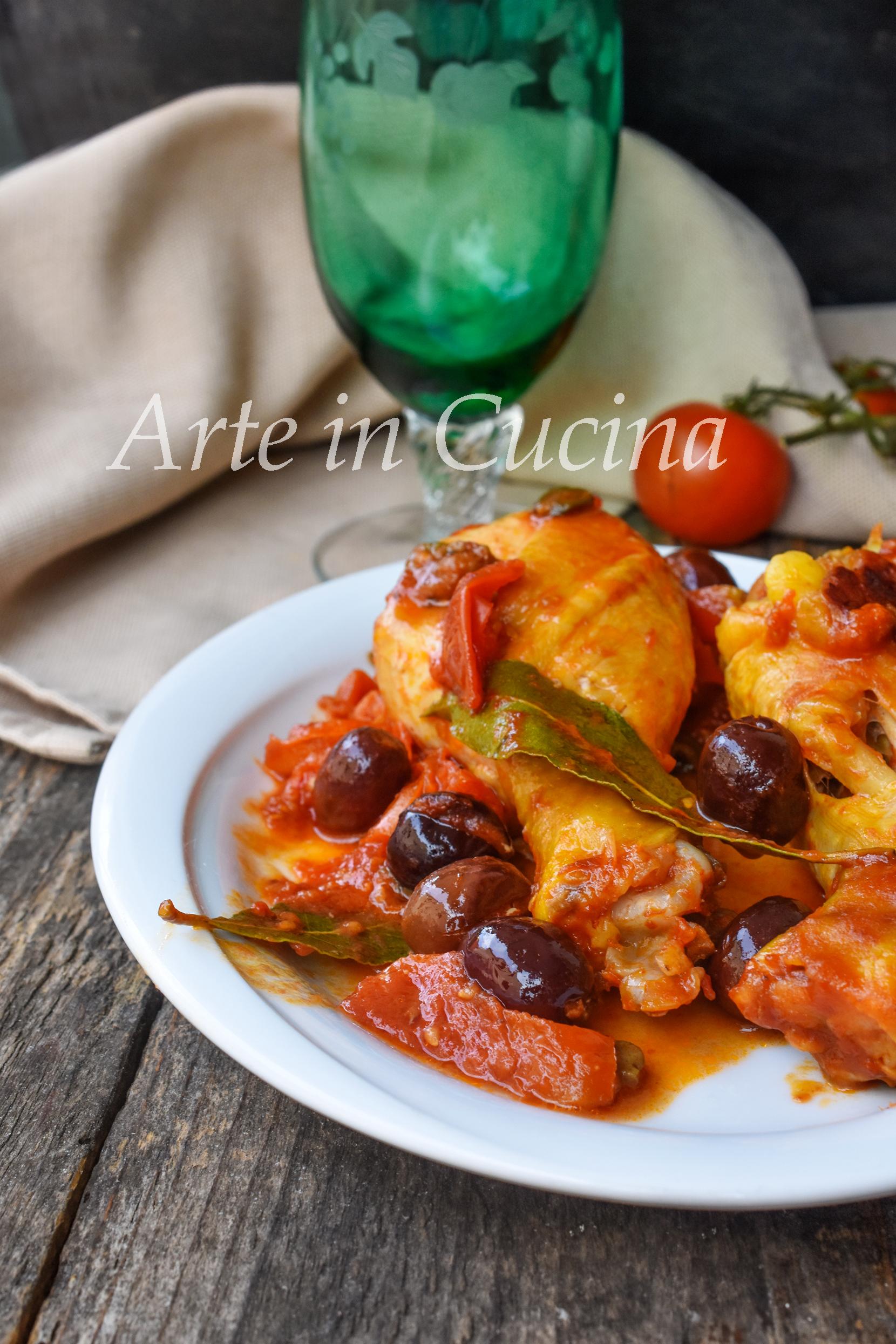 Pollo alla cacciatora secondo semplice e saporito vickyart arte in cucina