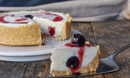 Cheesecake pasticciotto crema e amarene