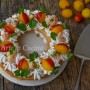Cream tart salata velocissima con mousse al prosciutto
