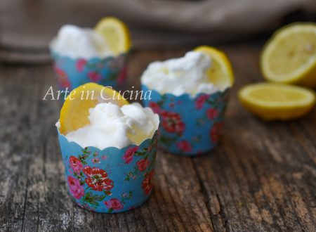 Gelato al limone e panna cremoso senza gelatiera