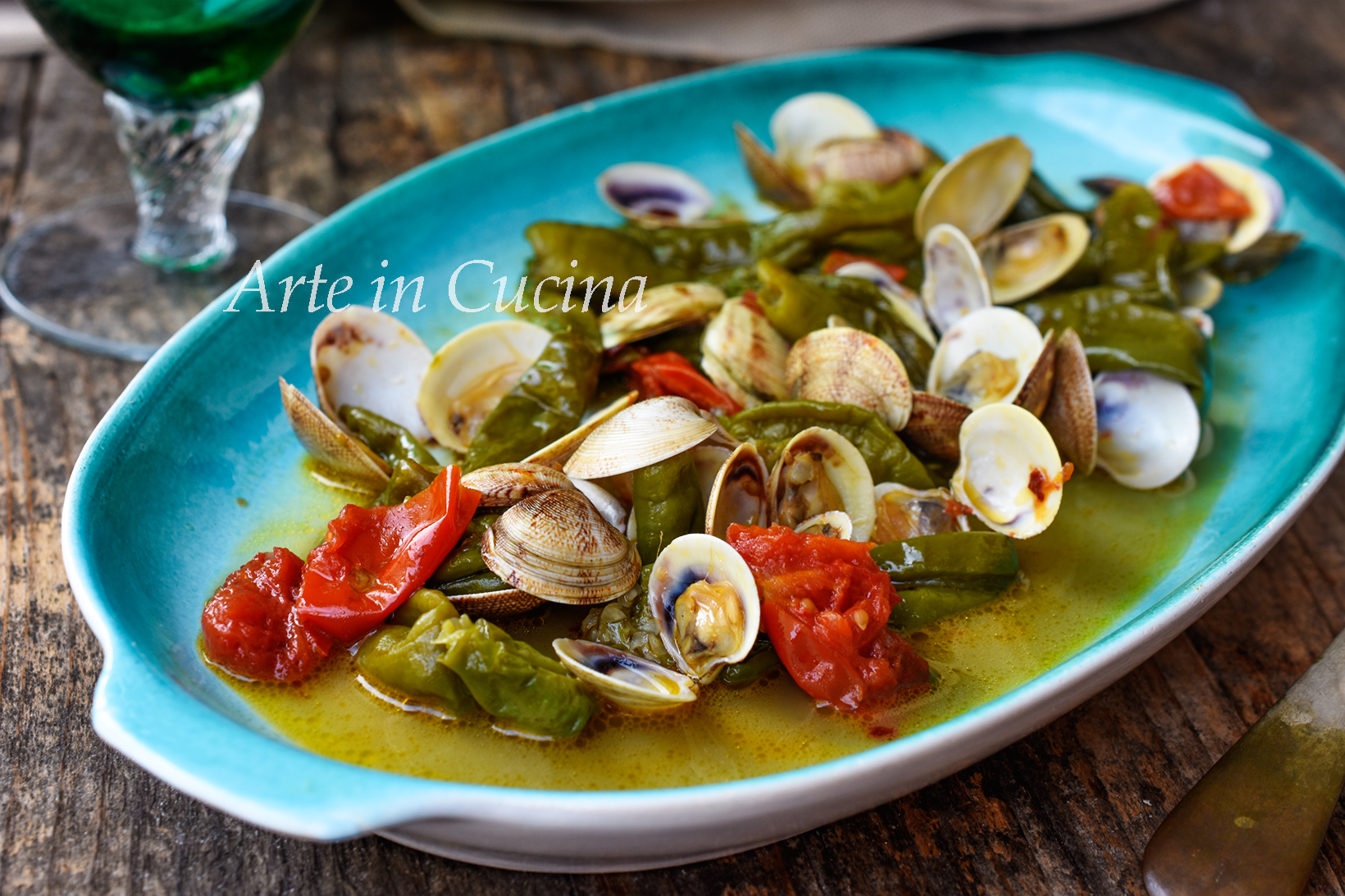 Lupini e friggitelli ricetta veloce a base di pesce