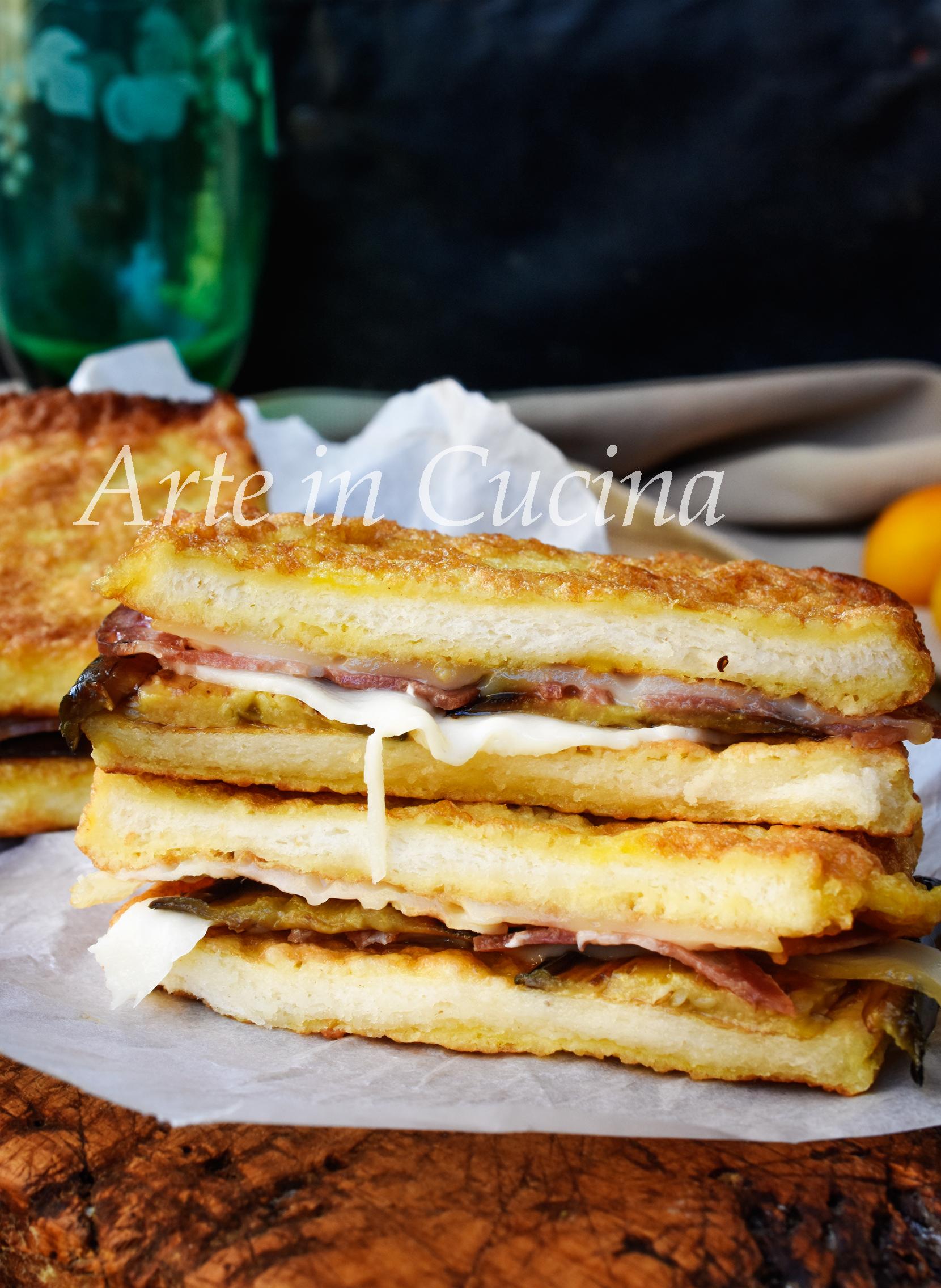 Parmigiana bianca in carrozza ricetta veloce con le melanzane vickyart arte in cucina