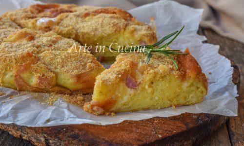 Rustico patate e salumi velocissimo