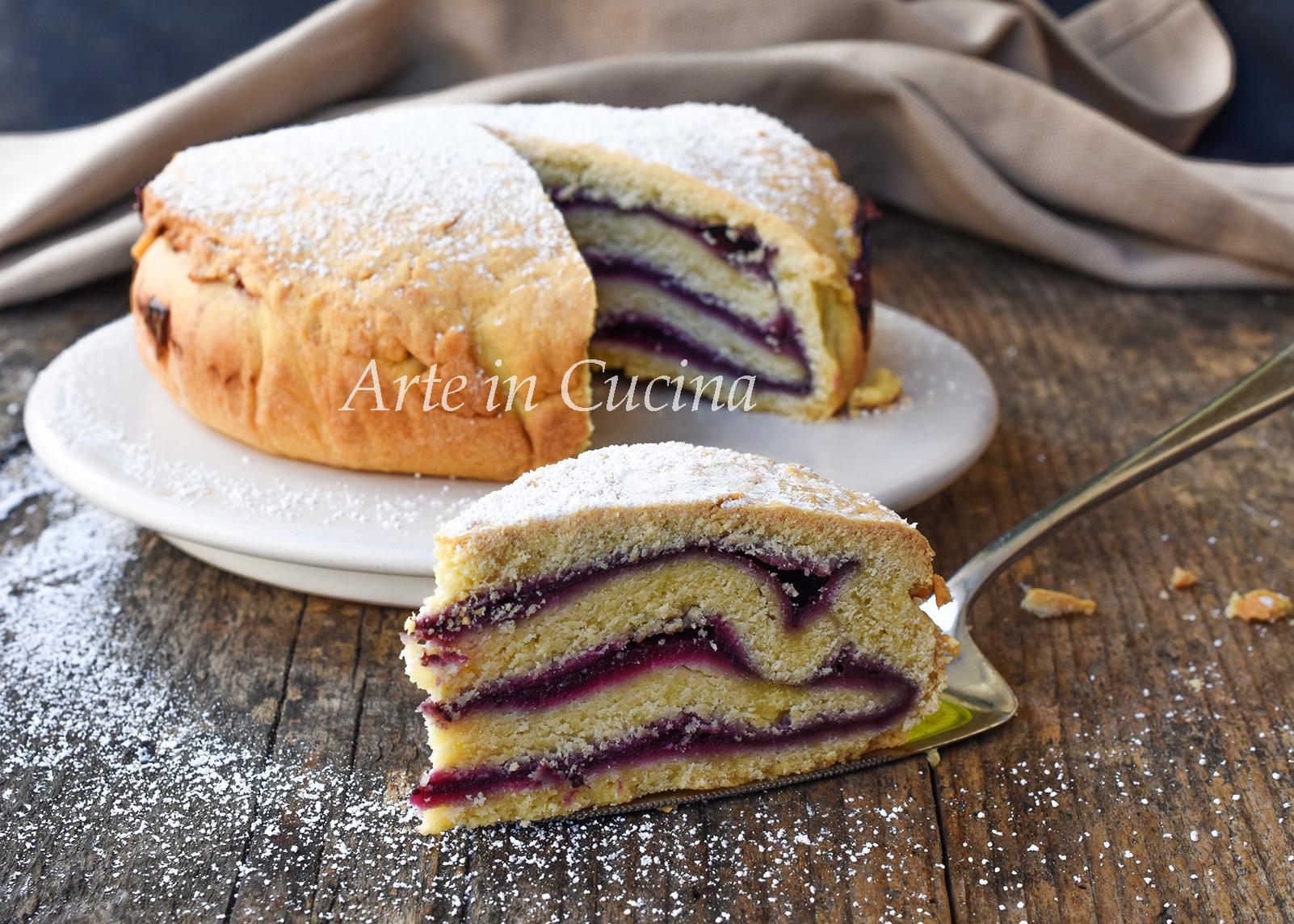 Torta crostata millefoglie alla marmellata vickyart arte in cucina