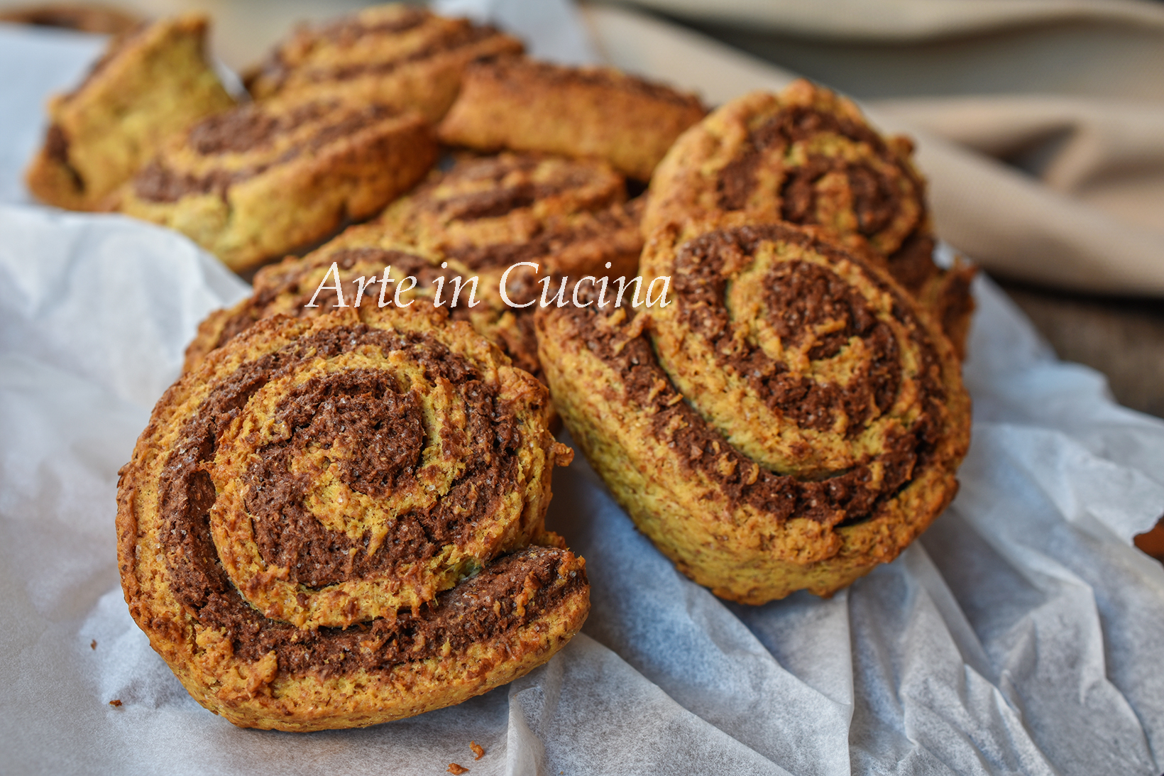 Biscotti bicolore integrali ricetta veloce