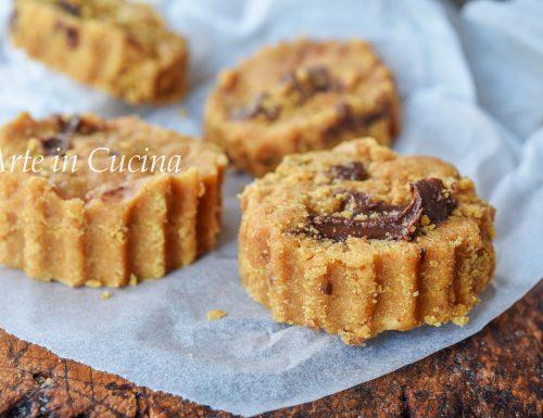 Biscotti alla nutella freddi senza cottura velocissimi
