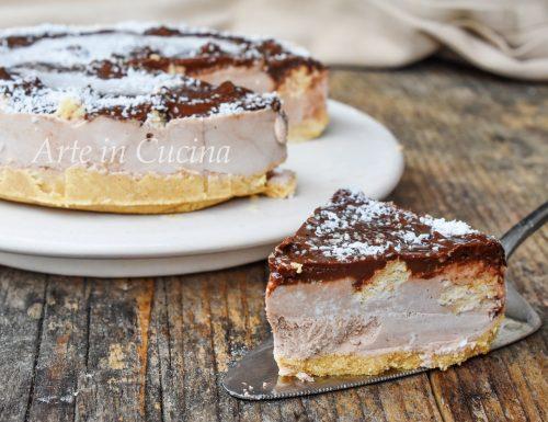 Cheesecake cocco e nutella ai wafer veloce