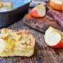 Crostata morbida alle mele e crema pasticcera
