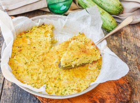 Frittata di riso con zucchine e tonno