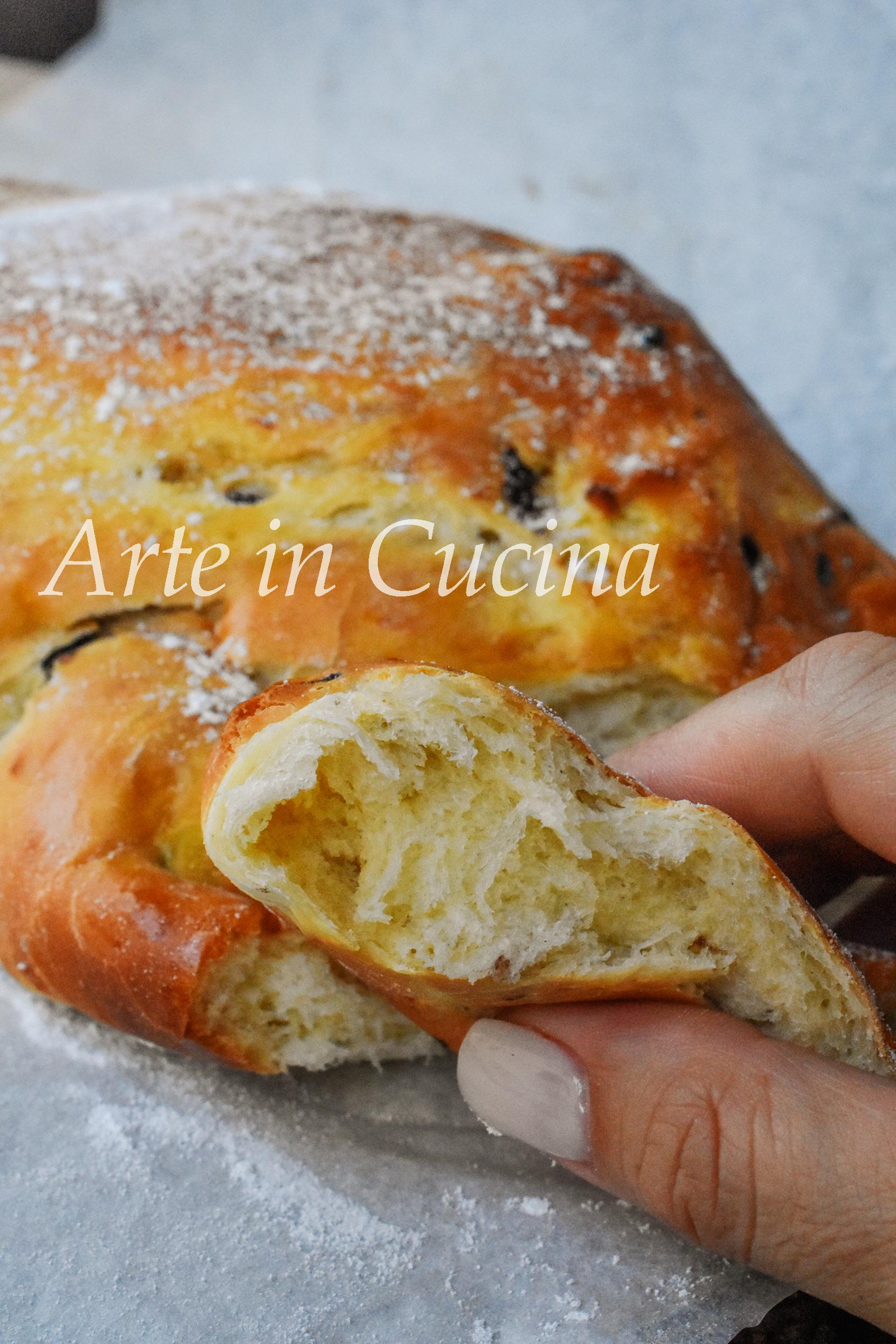 Pan brioche alla panna montata dolce semplicissimo e soffice