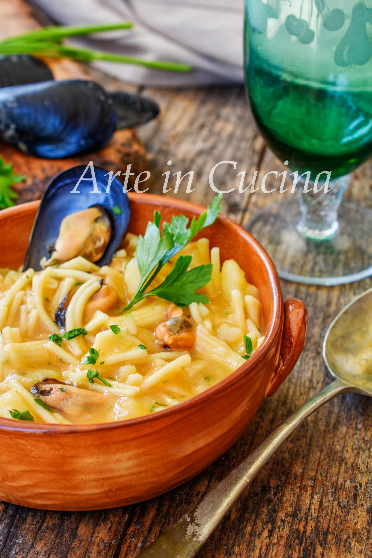 Pasta patate e cozze ricetta napoletana