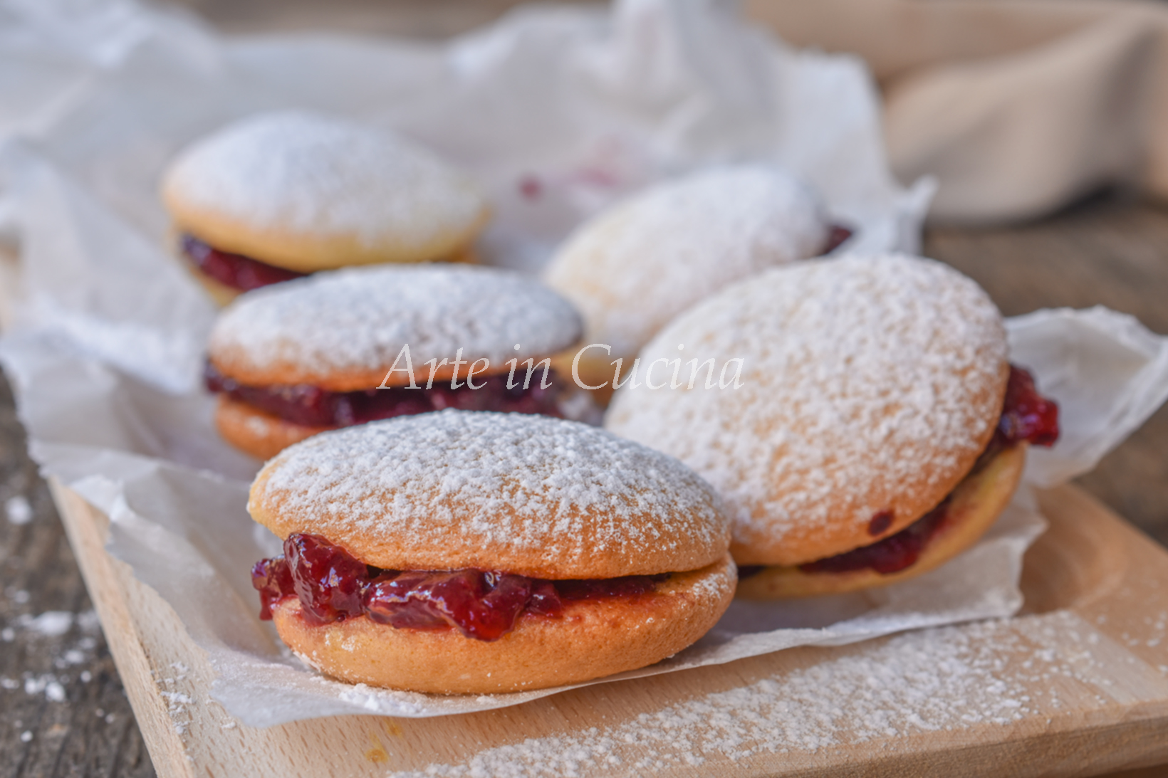 Biscotti Di Natale Quel Che Passa Il Convento.Biscotti Di San Gennaro Dolcetti Veloci Alla Marmellata