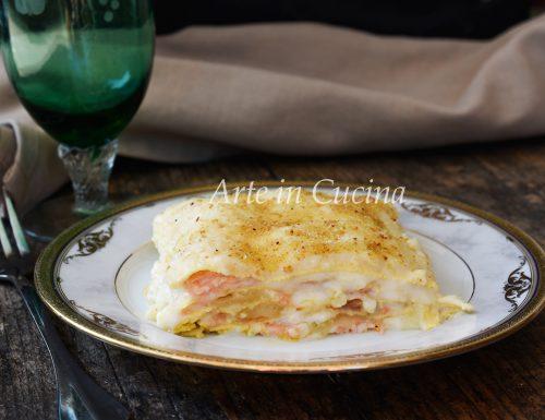 Lasagne con salmone e besciamella