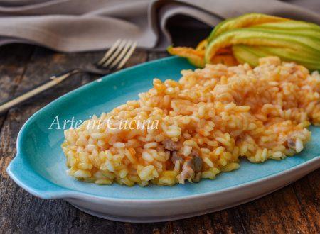 Risotto zucca e salsiccia ricetta veloce