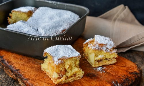 Torta bulgara alle mele dolce veloce
