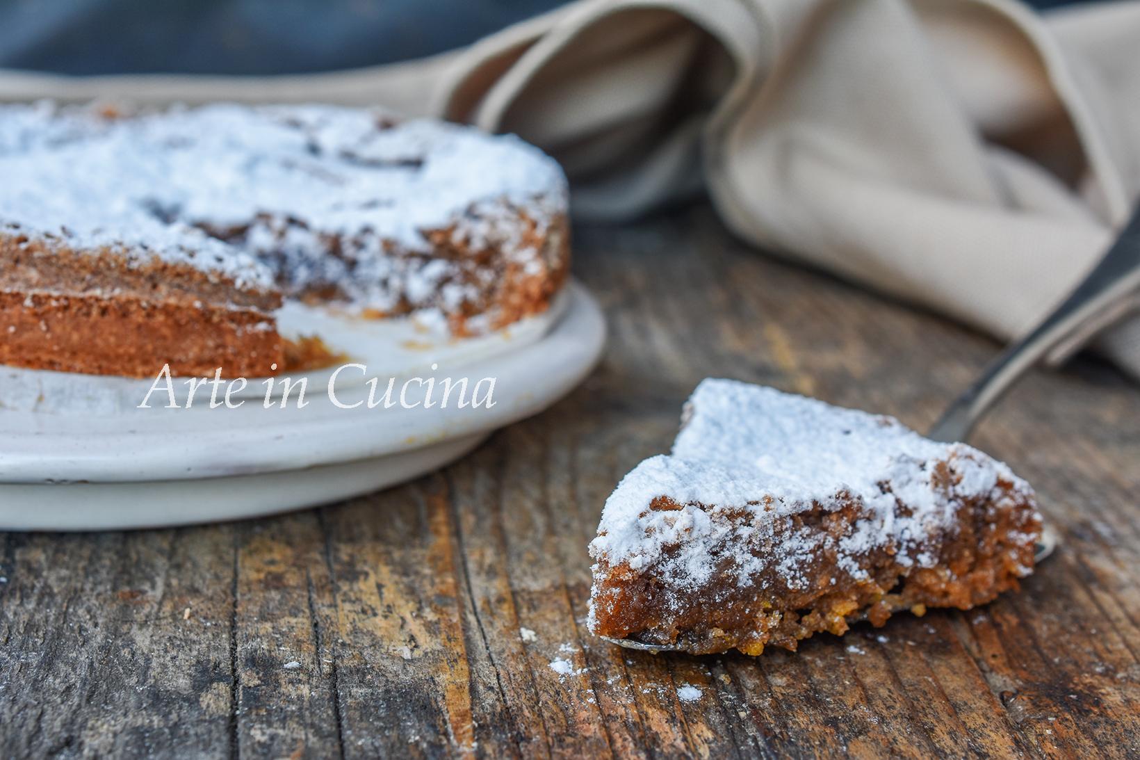 Dolci Di Natale Piemontesi.Torta Di Nocciole Piemontese Dolce Tipico Veloce Senza Farina