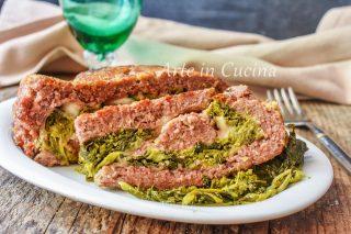 Mattonella di carne ripiena con friarielli